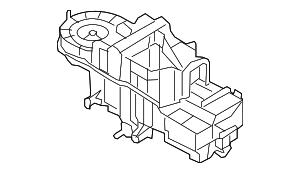 2008-2012 Ford Escape Evaporator Assy AL8Z-19B555-A