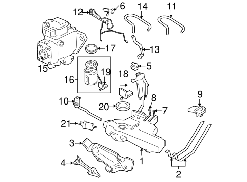 Starter likewise Diesel Injection Pump Scat also Infiniti Qx4 Rear Suspension Diagram likewise 12 Valve Fuel Plate besides Chevrolet Captiva Fuse Box Location. on vw beetle fuel gauge