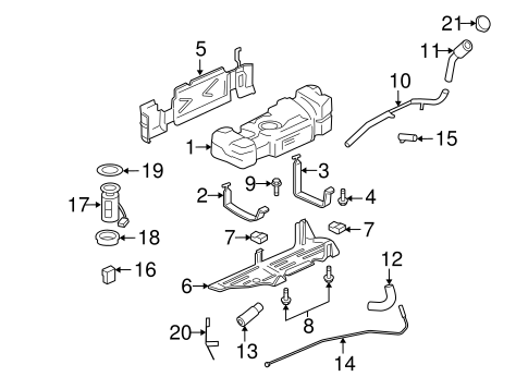 EMISSION SYSTEM/EMISSION COMPONENTS for 2008 Chevrolet Trailblazer #1