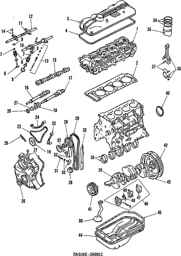 Index additionally Md009440 as well  on 1987 chrysler conquest tsi