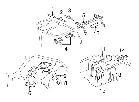 Interior Trim Roll Bar Scat