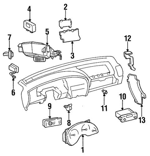 Controls for 1996 oldsmobile cutlass supreme for 1996 oldsmobile cutlass supreme power window switch