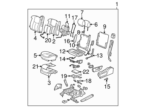 2007 Chevrolet Equinox Serpentine Belt Diagram further E38 20ECM 20Connector 20Pinouts in addition Marine Engines 2 further Starter Wiring Diagram Mercruiser as well 2004 Chrysler Pacifica Parts Diagram. on gm 3 3l v6 engine diagram