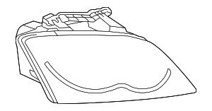 2004-2006 Chrysler Pacifica Headlamp Assy 4857728AC