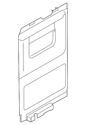 2008-2014 Ford E-150 Trim Panel XC2Z-1627419-BAB