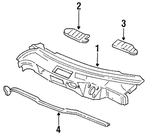 Parts Diagram 1990 Mazda 626