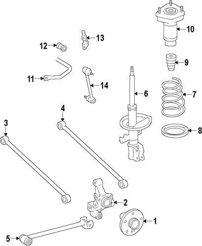 toyota paseo suspension diagram