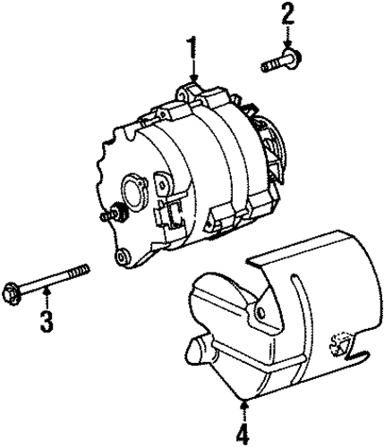 alternator for 2001 saturn sc2