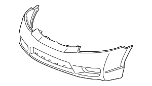2010 Honda CIVIC SEDAN DX (VP) FACE, FR. BUMPER (DOT) - (04711SNAA90ZZ)
