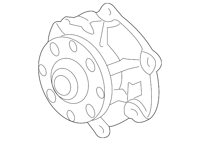 oem water pump  12657499  for your gm vehicle