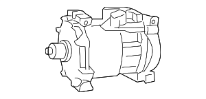 1997-2001 Dodge Dakota Compressor 55037205AH