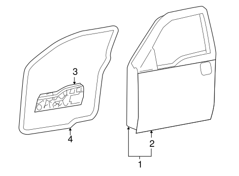 Front Console Scat besides Exterior Trim Front Door Scat furthermore 1997 F150 Exhaust Diagrams moreover 1995 Chevy Silverado Rear Differential additionally T14726786 2007 ford f150 4x4 extended cab. on f 150 fx4