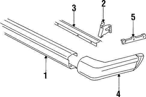 Bumper And Components Rear Scat