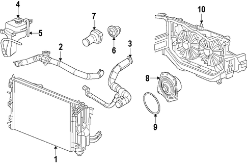 C11 additionally Cooling System Scat likewise T25931350 Cannkt find location coolant temperature together with On A 97 Dodge Stratus Starter Location in addition P0016 Dodge Charger. on 97 dodge avenger engine diagram