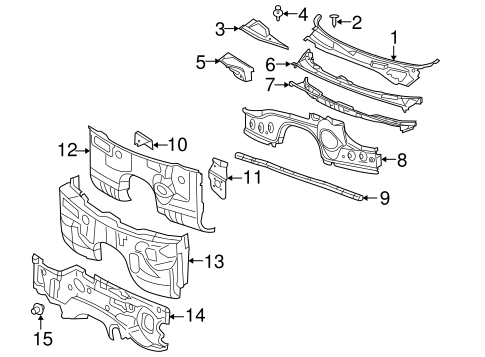 Dodge Magnum Hemi Engine Diagram moreover Cowl Scat further Wiper And Washer  ponents Scat furthermore Toyota Ta a 2 7l Belt Diagram together with 4 7 V8 Magnum Engine Diagram. on 4 7l v8 magnum engine