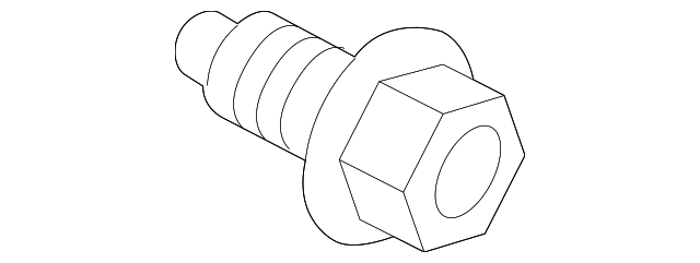 MOUNT BRACKET BOLT - GM (11589040)