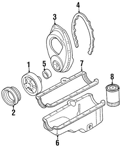 engine parts for 1991 chevrolet k1500 pickup  silverado