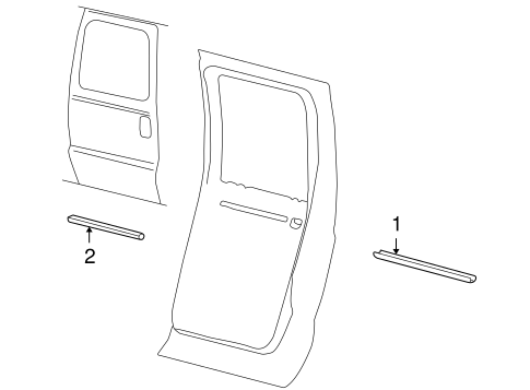 Overhead Console Scat together with Ford Excursion Body Part Diagram also Grey Men S Loafers besides Wheel Knuckle Oil Seal Installer 205 429 U together with 93 Oldsmobile Cutlass High Beam Switch Removed. on 2000 ford excursion parts catalog