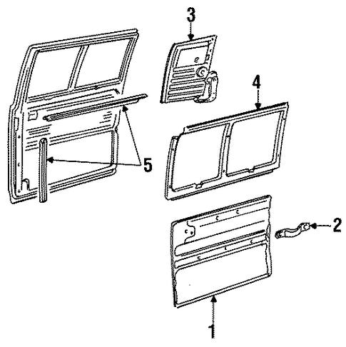Pontiac G6 Door Panel