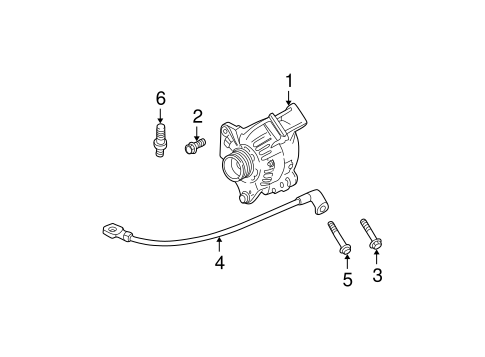 ground cable for 2005 cadillac deville