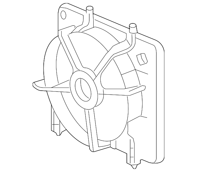 FAN SHROUD - Honda (19015-RB0-004)
