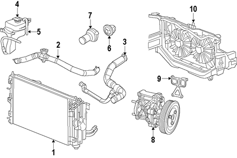 Oil Pan Reseal Cost together with 1z0ed 2008 Dodge Avenger 3 5 Need Change Back Plugs Cant furthermore Water Pump Replacement Cost further pressor Clutch Not Engaging moreover 4bx5b 2006 Chevy Impala Wher Thermostat Located 3 5l Top Hose. on chrysler engine cooling diagram