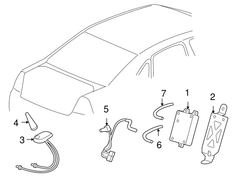 Jeep Wrangler Radiator Parts Diagram