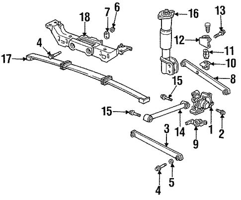 1947 To 1954 Rear 4 Drop Leaf Springs likewise Gm Ft Lateral Rod 10329693 further 1csoc Install Serpentine Belt 2000 Gmc Jimmy further 10264177 in addition P 0900c152800ad9ee. on 98 chevy spindle