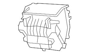 2011-2013 Jeep Wrangler Distribution Box 68089117AA