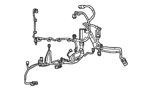 2013 Ford Fiesta Engine Harness CE8Z-12A581-DA