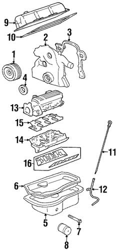 engine parts for 1999 pontiac firebird