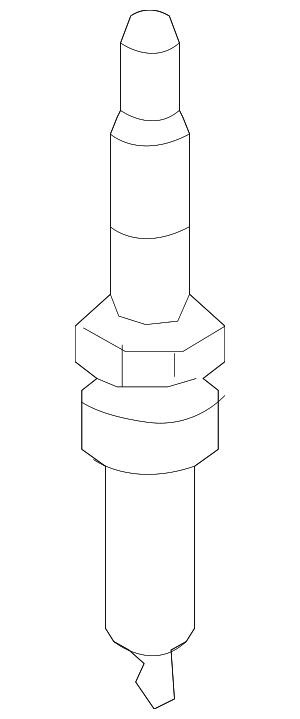 2013-2015 Dodge Dart Spark Plug SP070507AC