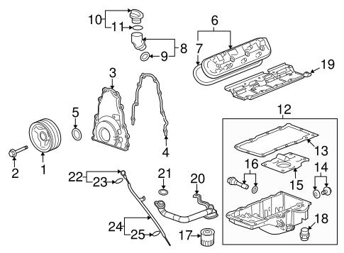 2014 Camaro V8 Engine