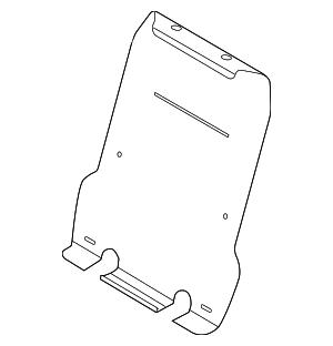 2011-2015 Ford Explorer Seat Back Panel BB5Z-7860508-B
