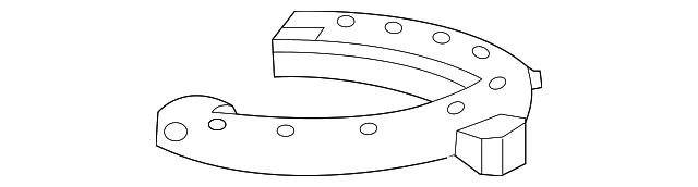 LOWER INSULATOR - Honda (51684-TF0-014)