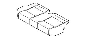 2015 Ford Transit-150 Seat Cushion Pad CK4Z-9963840-H