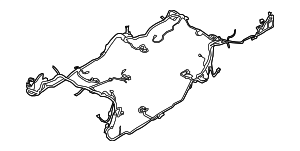 2013 Ford Mustang Wire Harness DR3Z-14A005-HC