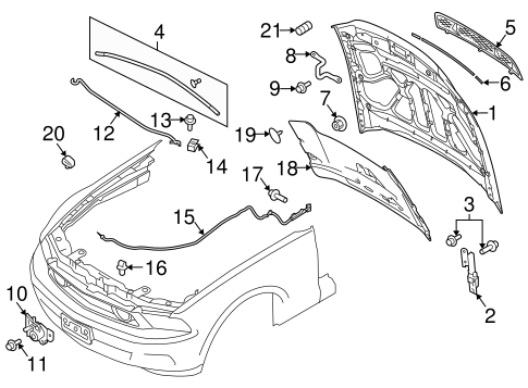fender mustang wiring kit with Hood And  Ponents Scat on Mustang Wiring Configs Schematic Mods as well European Kit Cars as well Gm Ls Alternator Wiring likewise Hood And  ponents Scat besides Steering Suspension Diagrams.