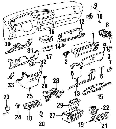 toyota fuse box diagram 1998 avalon