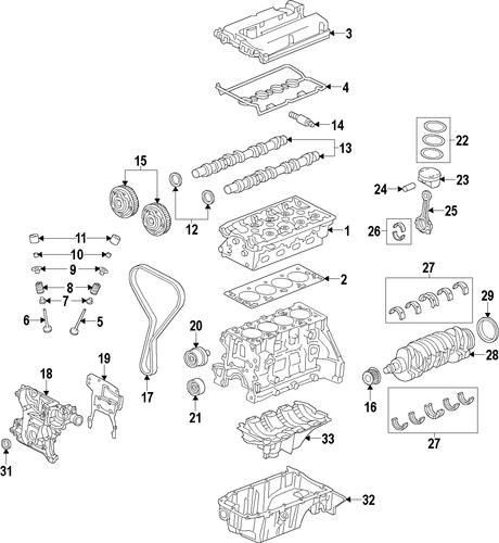 55567050 control valve solenoid for 2013 chevrolet cruze