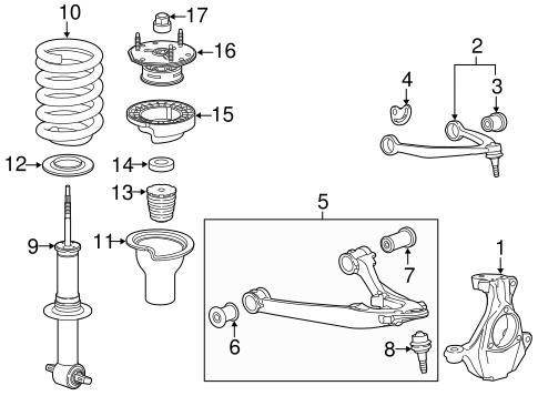 Saturn Aura Parts Diagrams