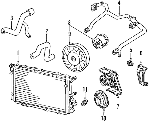 2001 audi a6 engine coolant diagram  2001  free engine