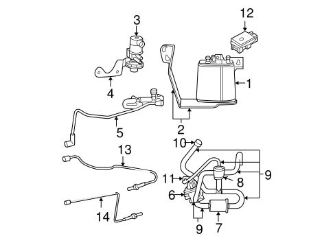2003 Jeep Grand Cherokee Parts Illustrations