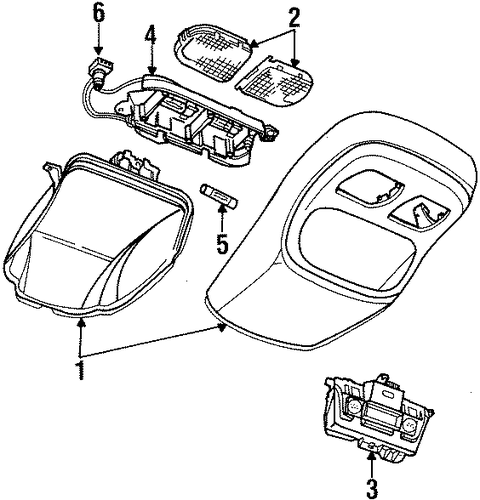chrysler 300 body parts list