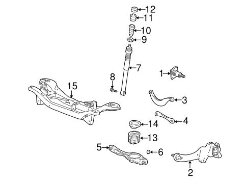 Manufacturer ford part number 4s4z 5a968 ac part trailing arm part