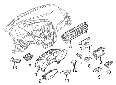 1988 Ford Bronco Fuel Pump Wiring Diagram likewise 1990 F250 Trailer Wiring additionally 2017 Ford Escape Instrument Panel in addition 1972 Ford F350 Wiring Diagram further 2000 Ford F450 Wiring Diagram. on ford f250 wiring diagram trailer lights