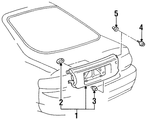 1996 Ford Taurus Fuse Box Diagram