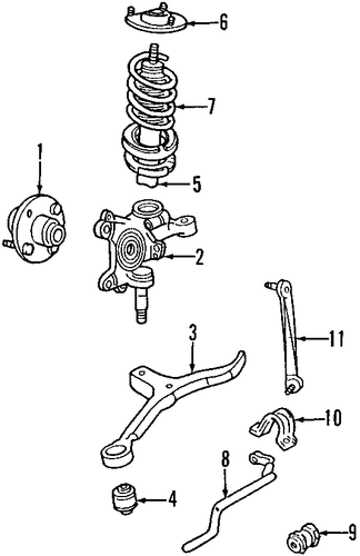 Suspension Components For 2002 Ford Taurus