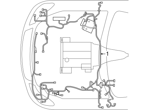 Nissan Battery Cable Wiring Harness