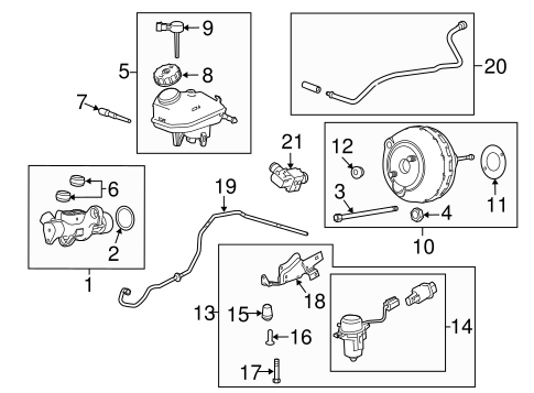 T11330738 Looking brake line diagram 1997 ford in addition 94 Buick Park Avenue Radio Wiring Diagram also 2001 Chevy Cavalier Serpentine Belt Diagram moreover Radiator Support Scat additionally Master Cylinder  ponents On Dash Panel Scat. on 94 pontiac sunfire